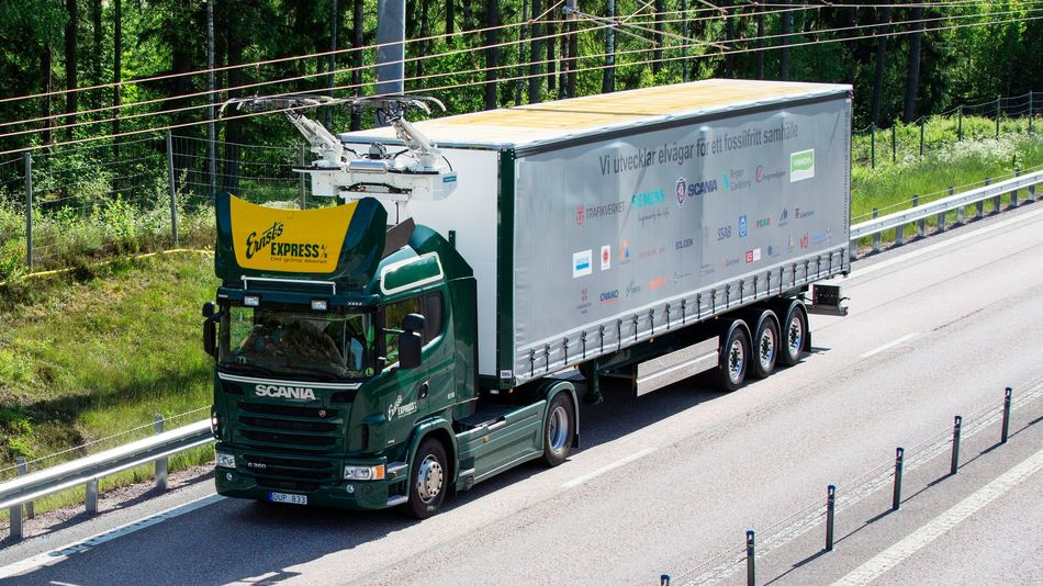 Sweden creates world's first 'Electric Road'